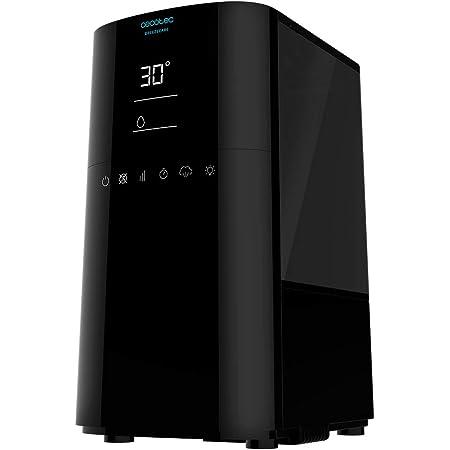 Cecotec Humidificador BreezeCare 4000 Connected. Depósito 6 litros, Humidificación 400 ml/h,Control por Wi-fi, Función Plasma, Cobertura hasta 40 m2, Control táctil