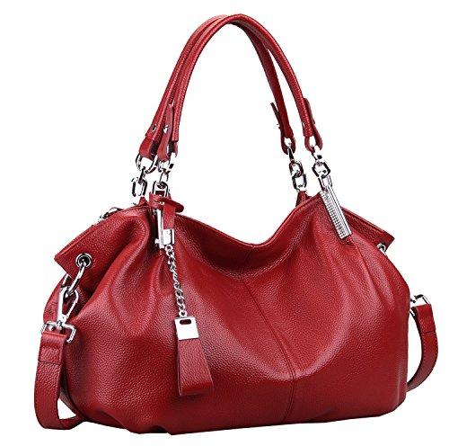 On Clearance Sale Heshe Womens Leather Handbags Ladies Purse Tote Bag Top Handle...