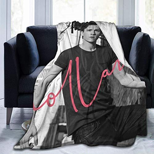 Aerlan Tom - Holland Flanneldecke Ultraweiche Micro Fleece Decke mit Throw Print Mikrofaser Plüsch Decke für Couch Schlafsofa(50x40inch)
