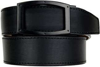 Apollo Dress Belt Series Leather Ratchet Belts with Automatic Buckle for Men - Nexbelt Ratchet System Technology