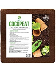 A R S H Cocopeat 5kg Block for Plants and Gardening - Expands Upto 75 litres of Cocopeat Coir Powder (4-5 Kg)