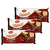 Tiffany Crunch n Cream Wafers (Chocolate, 150GM, Pack of 3)
