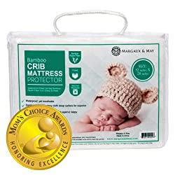 in budget affordable Crib Mattress Cover (Mama's Choice Award Winner) – Margaux  May – Silent – Hair Dryer…