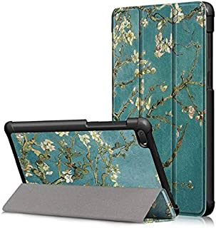 ODIN -Tablets & e-Books Case - Case for Tab E7 Tablet PU Leather Folding Stand Cover for Tab E7 TB-7104F Case (XH)