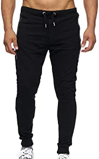35fa4e24515 Colmkley Men s Sport Pants Athletic Running Workout Sweatpants with Side  Pockets