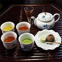 近江茶だんらんセット〔上煎茶×50TB、お番茶焙じ茶×50TB、和の紅茶×20TB、武の翠30g〕
