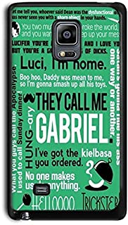 CASE LOCK LTD - Supernatural-Hard Rubber Phone Case for Samsung Galaxy S7 Made and Shipped from The USA