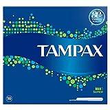 Tampax Super Tampones con aplicador de cartón protección contra fugas, paquete de 20