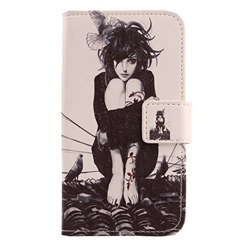 Lankashi PU Flip Leder Tasche Hülle Hülle Cover Schutz Handy Etui Skin Für Doogee HomTom HT7 Pro 5.5