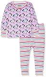 Hatley Organic Cotton Pyjama Sets Conjuntos de Pijama, (Multicoloured Rainbow Unicorns), (Talla del Fabricante: 12-18 Meses) para Bebés
