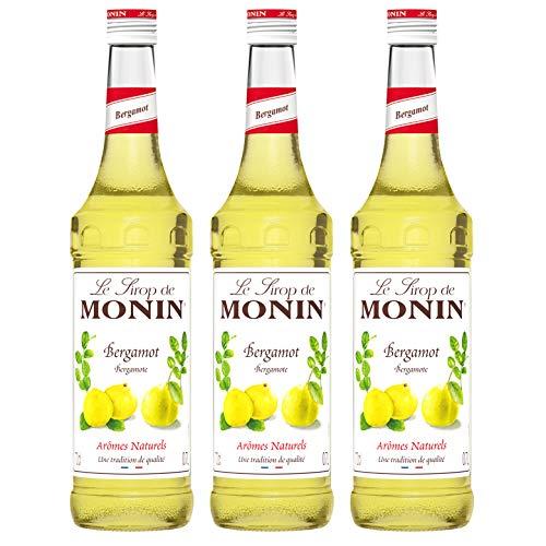 Monin Sirup Bergamotte, 0,7L, 3er Pack