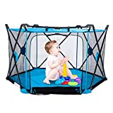 Abon 53x29inch Play Portable Playard for Infants & Babies 6-Panel...