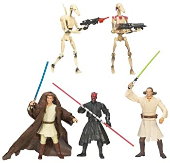 Hasbro Star Wars Saga Collection Battle Packs - Sith Lord Attack Action Figure Set