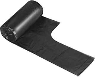 Moyad Handle-Tie Small Trash Bags for Bathroom and Bedroom, 4 Gallon Garbage Bags 30 Count/Roll
