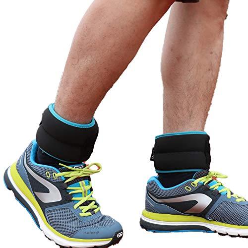Sandsäcke Gewichtsmanschetten Fitness Krafttraining Fitnessgeräte Sport für Übung Laufen Joggen Gehen Aerobi Muskelaufbau Trainingsgeräte Gewichtsverlust,1KG*2