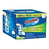 DampRid Fresh Scent Drop-in Tab Refill - 2 Pack - 15.8 Oz. Refill Tabs - Moisture Absorber