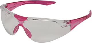 Champion Traps and Targets Shooting Glasses Youth Clear Glasses - Pink Temples(Ballistic)