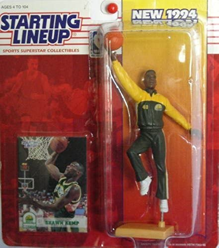 Starting Lineup Sports Superstar Collectibles 1994 Shawn Kemp by Kenner