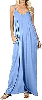 JHXS Women's Summer Casual Dresses Swing Dress