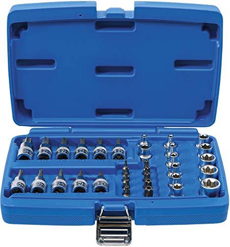 BGS 5021 | Juego de puntas y llaves de vaso | 10...