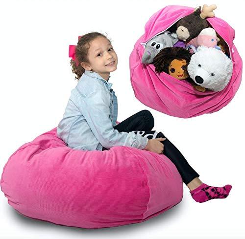 Stuffed Animal Storage Bean Bag Chair Cover ??