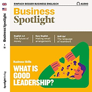 Business Spotlight Audio - Leadership. 1/2019 Titelbild