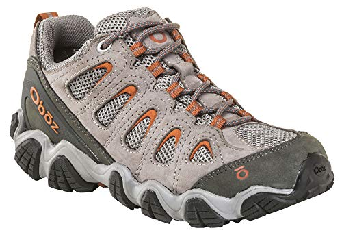 Oboz Sawtooth II Low Hiking Shoe - Women's Drizzle/Apricot 6.5
