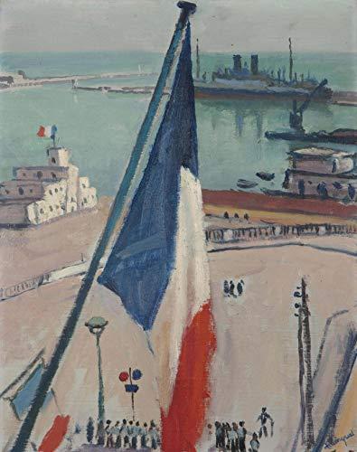 Digitale Malerei Diy Ölgemälde Malen Nach Zahlen Kits Für Erwachsene Kinder 16X20 Zoll Albert Marquet Algier Flaggen