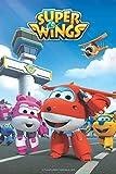 LVQIANHOME Super Wings Niños Puzzle 1000 Piezas Madera Puzzle Juego Clásico Puzzle Ocio Arte Toys Puzzles (75x50cm)