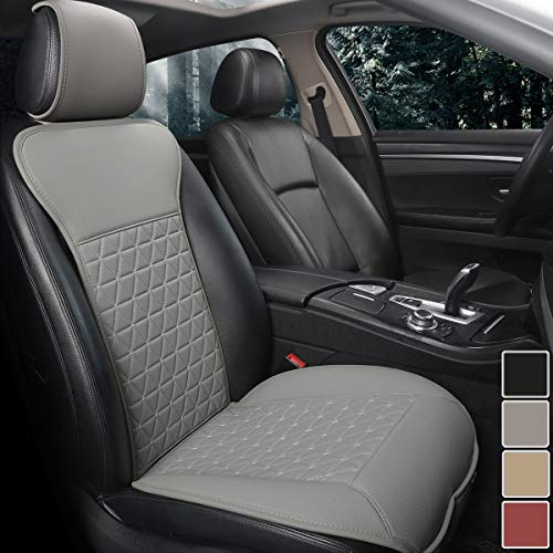 car seat cover leather grey - 8
