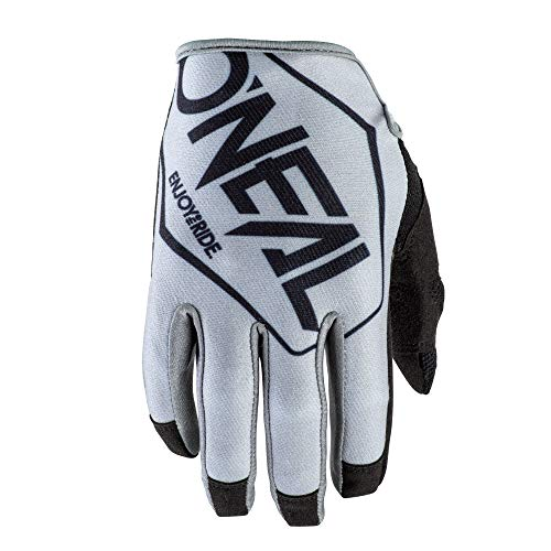 O'NEAL | Fahrrad-& Motocross-Handschuhe | MX MTB DH FR Downhill Freeride | Langlebige, Flexible Materialien, belüftete Nanofront-Handpartie | Mayhem Glove | Erwachsene | Schwarz Grau | Größe M