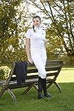 Covalliero Basic Plus - Pantaloni da Equitazione per Bambini, Bambini, Pantaloni da Equitazione, 321004-2, Bianco, 170