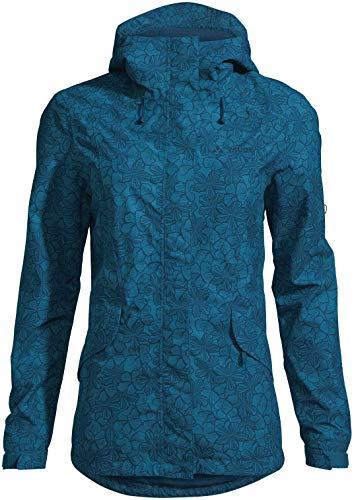 Vaude Damen Jacke Women's Rosemoor Aop Jacket, Kingfisher, 38, 42007