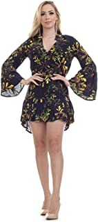 Vestido Clara Arruda Manga Larga Estampado 50280