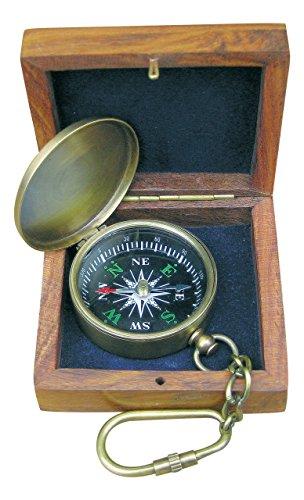 Kompass-Schlüsselanhänger - perfekt für die maritime Dekoration