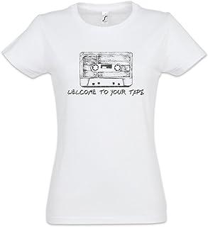 Cassette Camiseta de Mujer Women T-Shirt