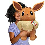 Pokemon Eevee Giant Plush, 24-inch - Adorable, Ultra-Soft, Life Size Plush Toy, Perfect for Playing & Displaying - Gotta Catch 'Em All