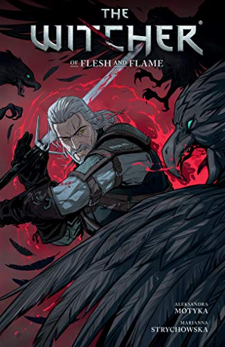 WITCHER 04 OF FLESH AND FLAME