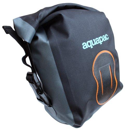 Pochette imperméable pour appareil photo numérique (Noir/Orange, Taille moyenne, IPX6)