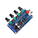 Comimark 1Pcs HiFi NE5532 OP-AMP Preamplifier Amplifier Volume EQ Tone Control Board