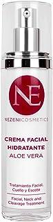 Crema Facial Aloe Vera Nezeni Cosmetics - BAJO CONSERVANTES 2 años caducidad cerrado
