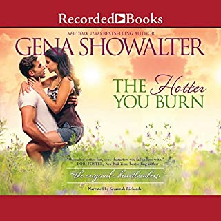 The Hotter You Burn audiobook cover art