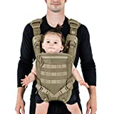 Mission Critical | S.01 Action Baby Carrier | Baby Gear for Dads | Front Carrier | Coyote