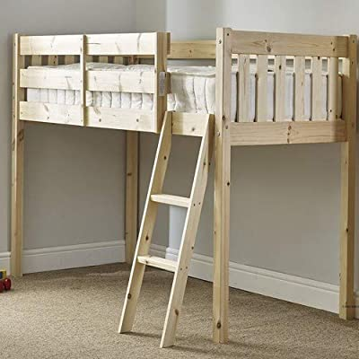 Strictly Beds and Bunks Limited Childrens Cabin bed short length 2ft 6 by 5ft 9 with 20cm thick mattress
