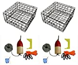 Best Crab Traps - KUFA Vinyl Coated Crab Trap Accessory Kit Review