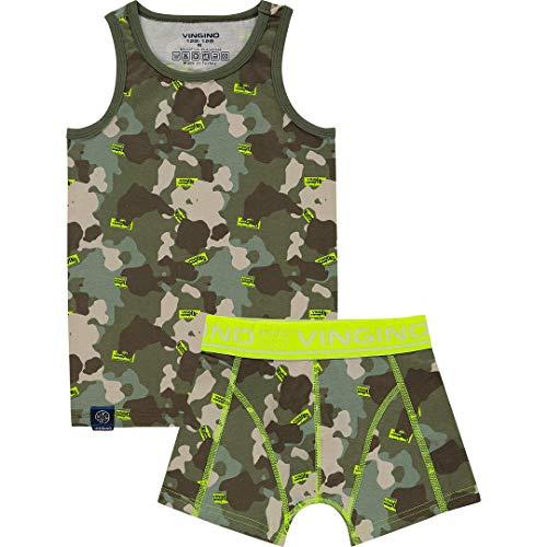 Vingino International Unterwäsche Jungen Set Multicolor Green (XL-158/164)