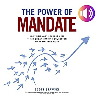 The Power of Mandate audiobook cover art