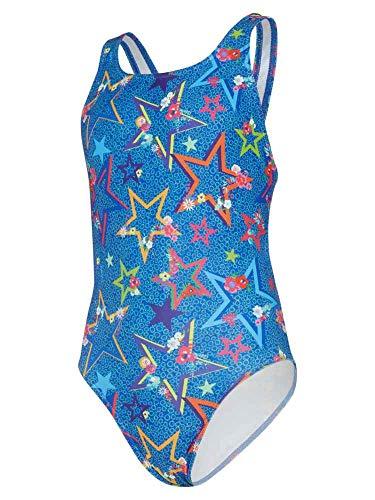maru Mädchen Badeanzug Ditsy Stars, Mädchen, Mädchen Badeanzug, blau, 81,3 cm