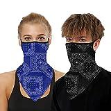 Bandana Gesichtsmaske für Damen/Herren, Unisex, multifunktional, Outdoor-Maske, Schal, Sturmhaube...