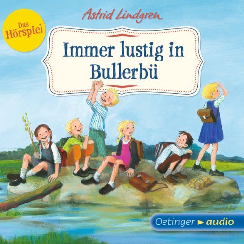 Immer lustig in Bullerbü cover art